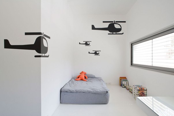minimalistic kid's room