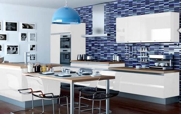 Decoração de cozinhas Veja dicas baratas e simples para incrementar a sua Bl # Azulejo Para Cozinha Simples