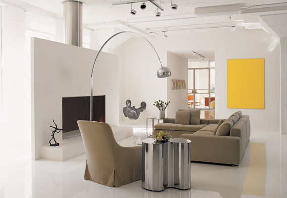 decoração minimalista de ambientes