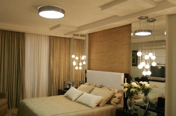 iluminação dos quartos