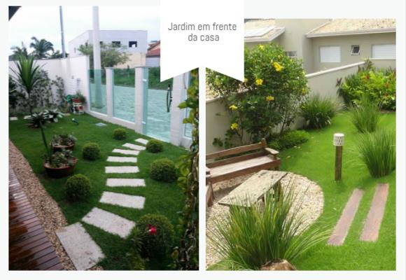 pedras jardins pequenos : pedras jardins pequenos:Jardins para casa: Confira modelos Blog Siteimovel.com