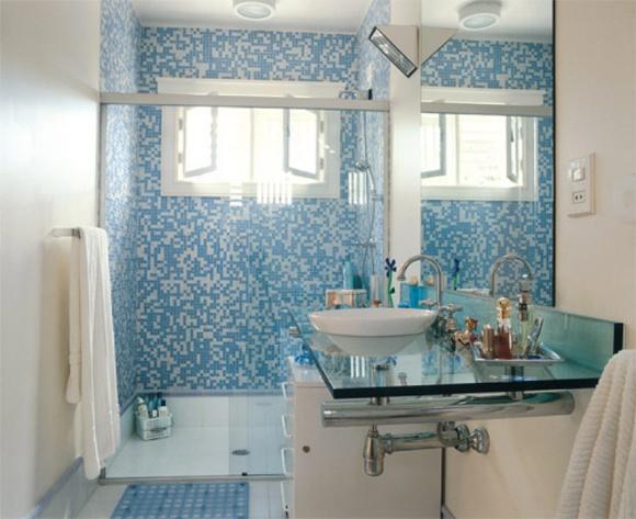 Banheiros Revestidos Simples : Reforma banheiro dicas para n?o gastar muito