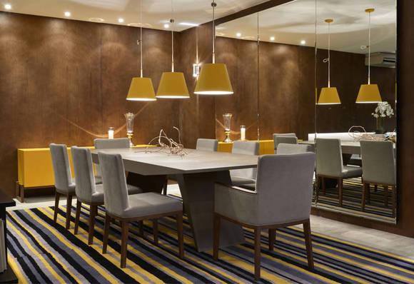 iluminação sala jantar