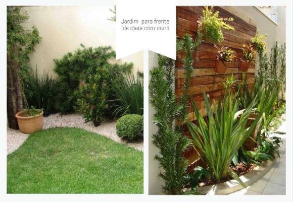 Jardim para muro