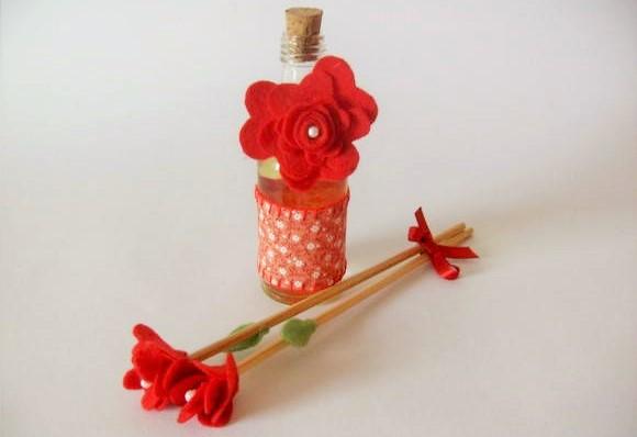 decoração aromatizador de ambiente com varetas