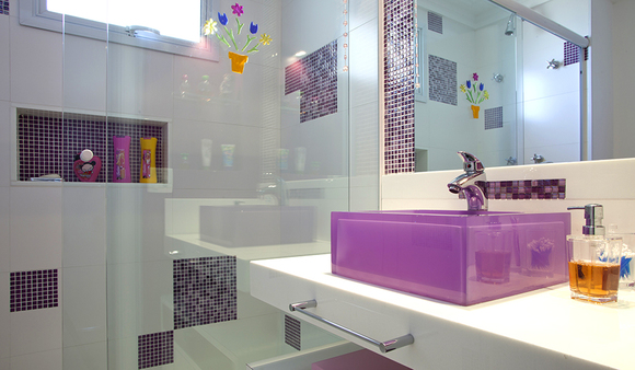 decoracao reforma banheiro – Doitricom -> Decoracao De Banheiro Roxo