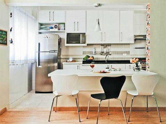 cozinhas planejadas muito pequenas para apartamento