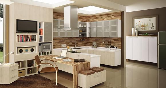 Cozinha para casa pequena