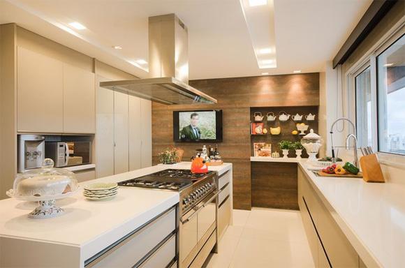 Cozinhas para casas pequenas