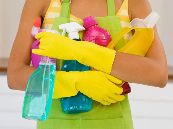 Algumas dicas para uma limpeza rápida e eficiente
