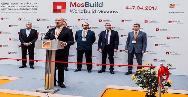 4 апреля начала свою работу выставка MosBuild/WorldBuild Moscow