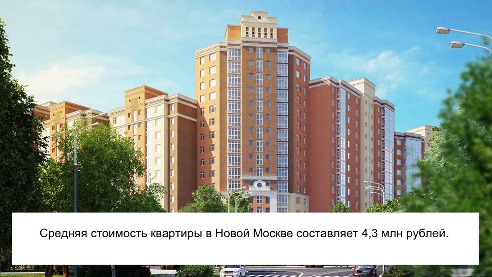 Новострой Новой Москвы: фото