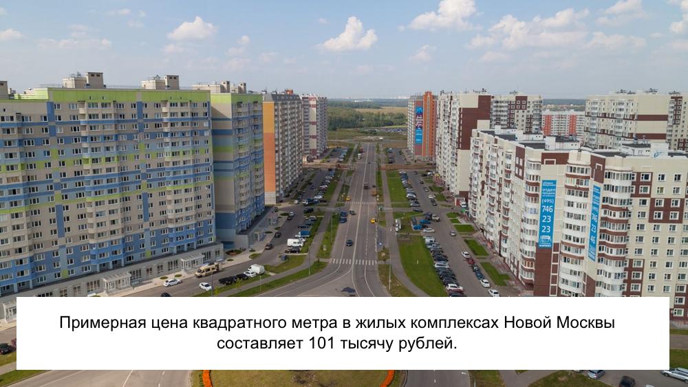 Жилой комплекс Новой Москвы: фото